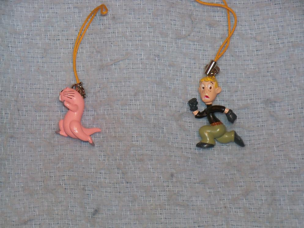Name:  Rufus (Left Side) and Ron Cell Phone Charms.jpg