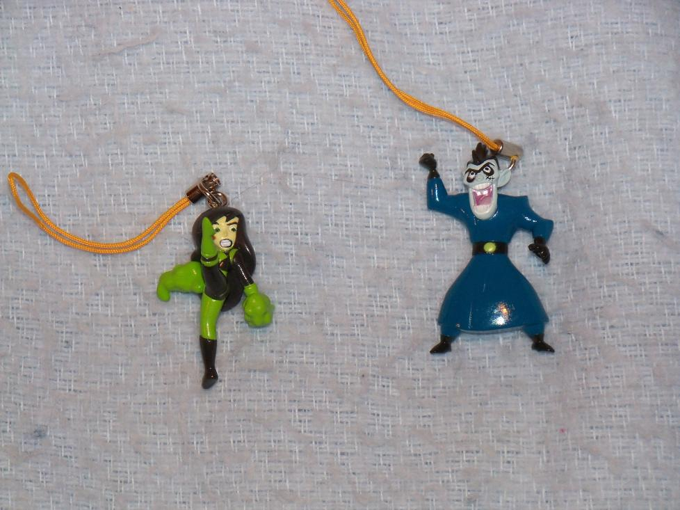 Name:  Shego (Front View) and Drakken Cell Phone Charms.jpg