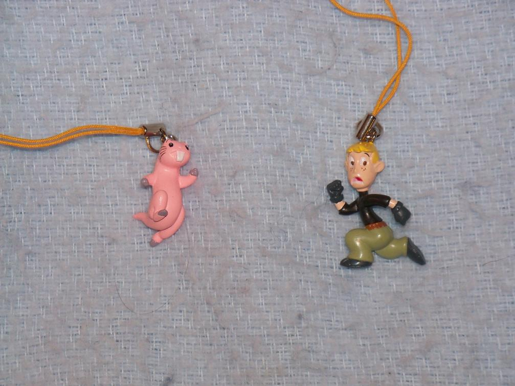 Name:  Rufus (Right Side) and Ron Cell Phone Charms.jpg